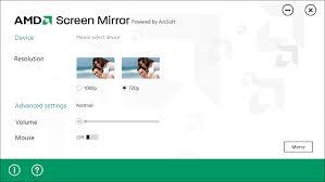 AMD Screen Mirror