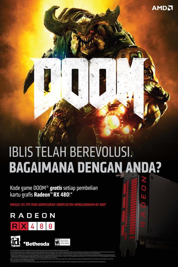 Promo Radeon RX 480 DOOM