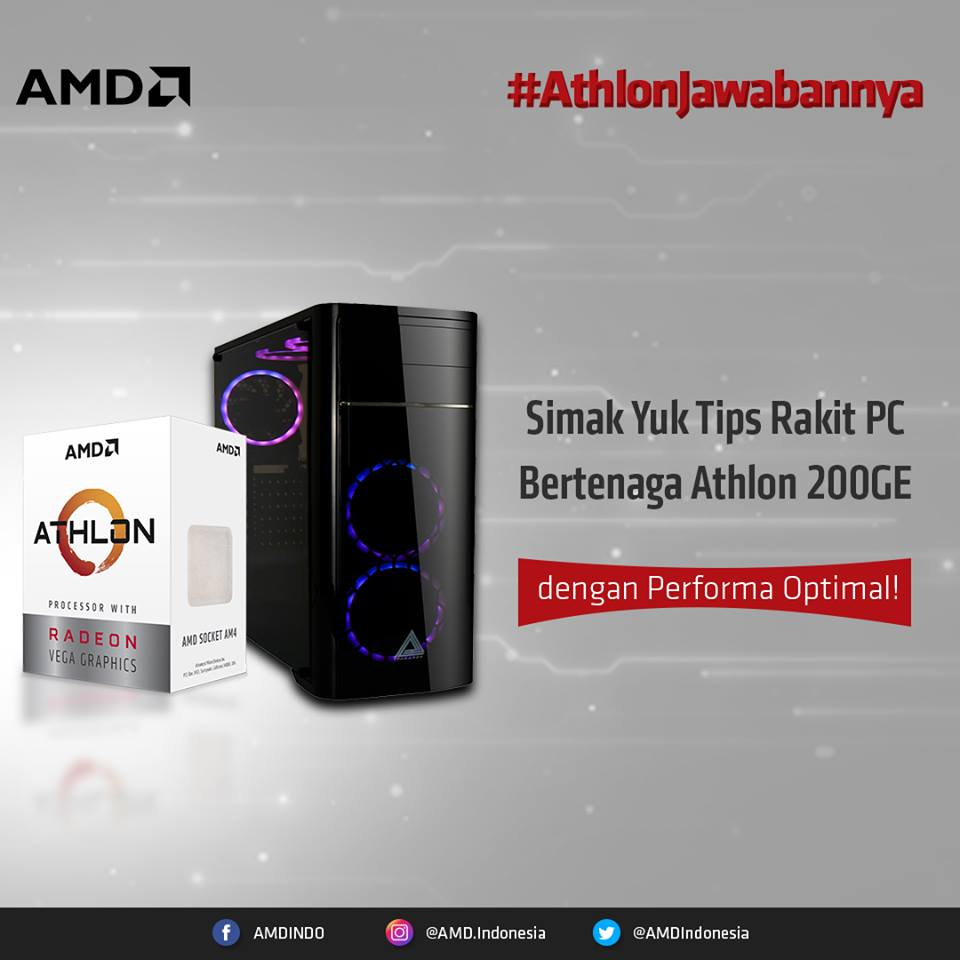 athlon tips rakit PC