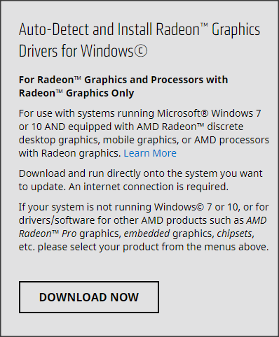 Radeon Software Adrenalin 2019