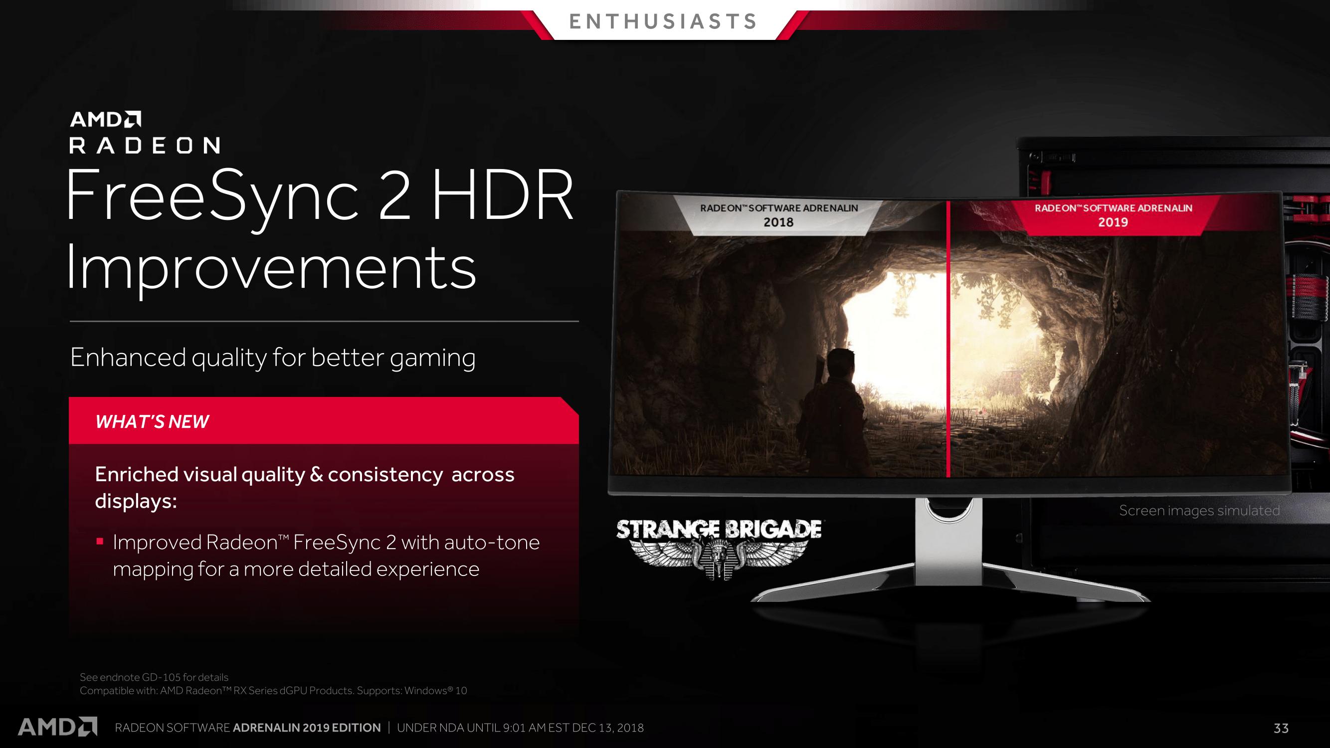 FreeSync 2 HDR