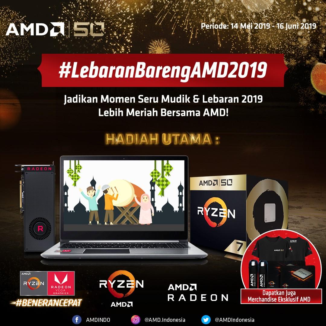 Giveaway Lebaran Bareng AMD 2019!