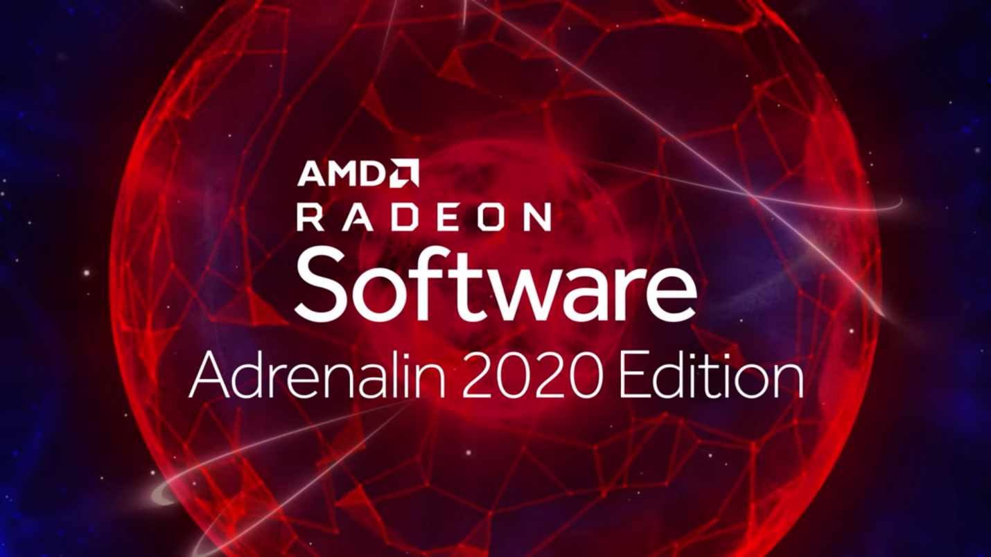 Intro Radeon Software Adrenalin 2020