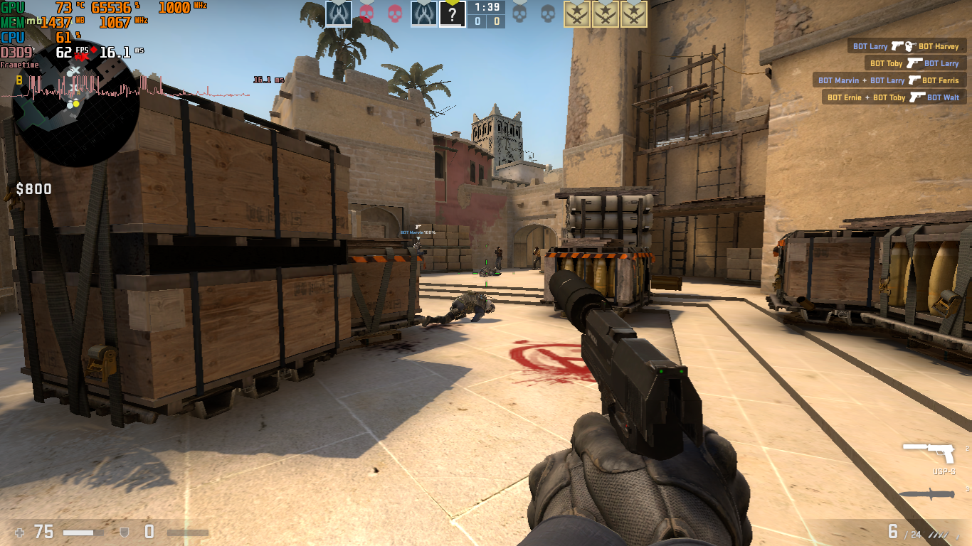 CS GO 720p Low Athlon