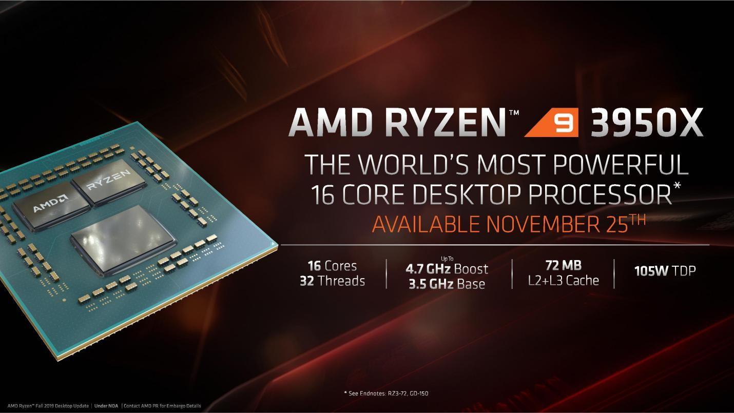 Ryzen™ 9 3000 Series